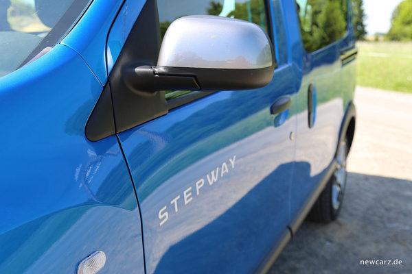 Dacia Dokker Stepway Außenspiegel