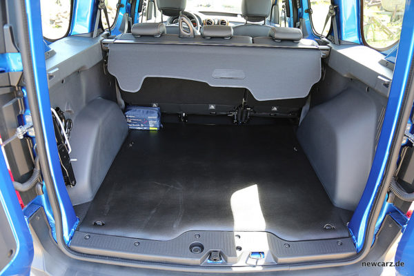 Dacia Dokker Stepway Laderaum