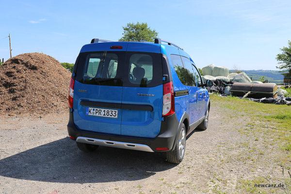 Dacia Dokker Stepway Hinten