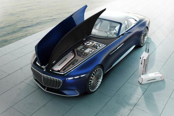Mercedes-Maybach 6 Cabriolet Haube
