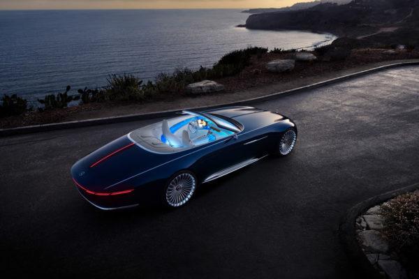 Mercedes-Maybach 6 Cabriolet oben schräg