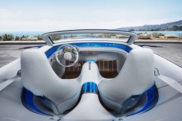 Mercedes-Maybach 6 Cabriolet Interieur