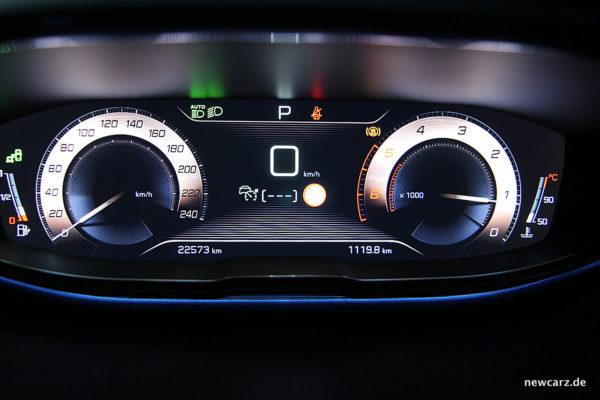 Peugeot 3008 GT Armaturen