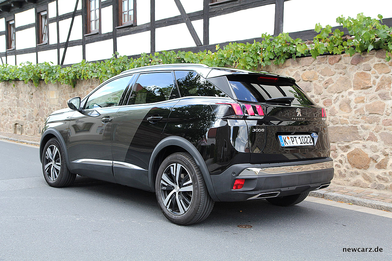 peugeot 3008 gt mehr gran turismo als crossover. Black Bedroom Furniture Sets. Home Design Ideas