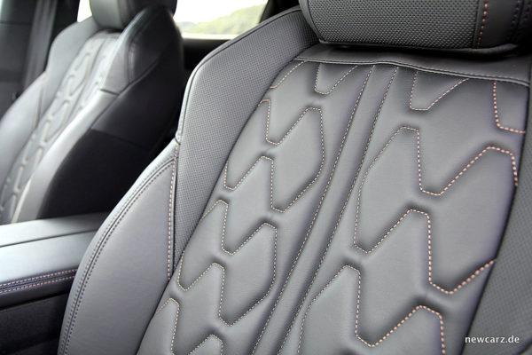 Peugeot 3008 GT Sitze