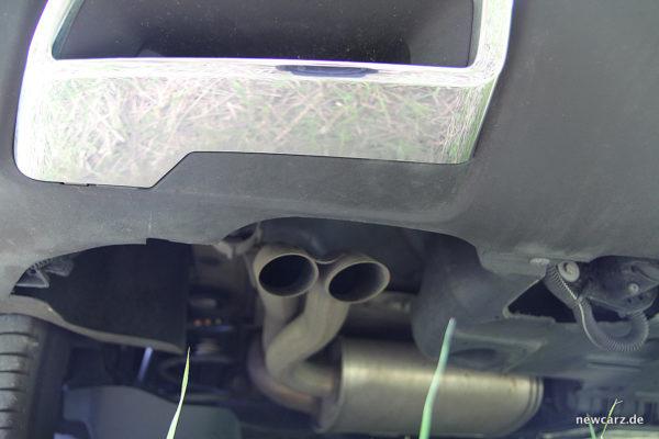 Peugeot 3008 GT Endrohr Original