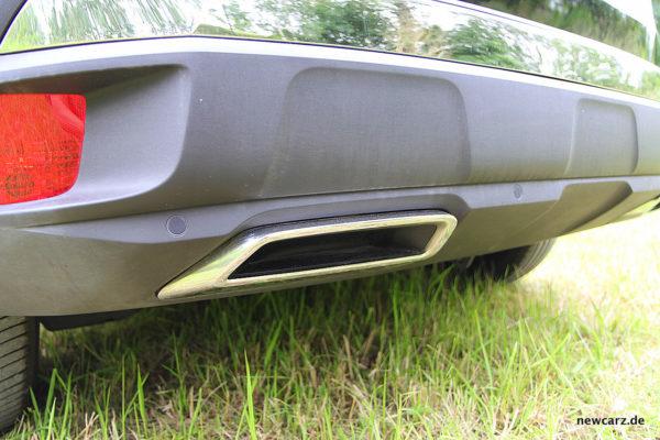 Peugeot 3008 GT Endrohr