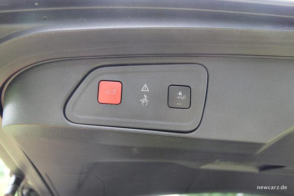 Peugeot 3008 GT Heckklappensteuerung