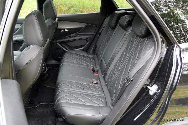 Peugeot 3008 GT Rücksitzbank