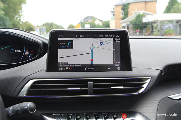 Peugeot 3008 GT Touchscreen