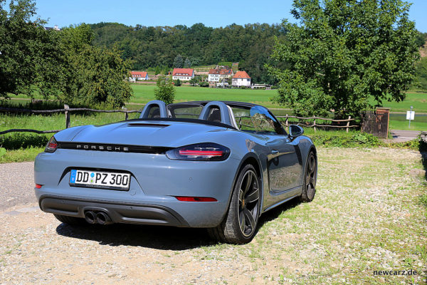 Porsche 718 Boxster S Parking Position