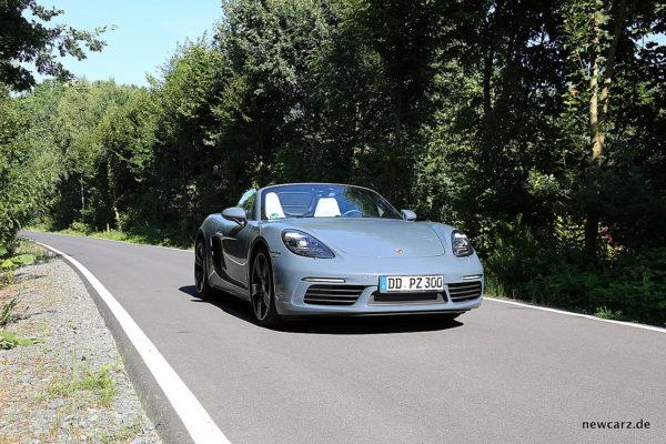 Porsche 718 Boxster S onroad