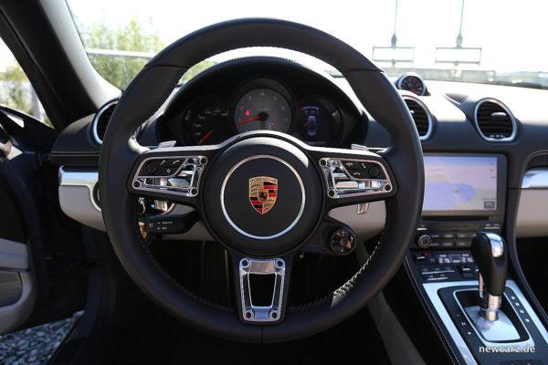 Porsche 718 Boxster S GT-Lenkrad