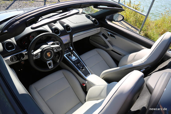 Porsche 718 Boxster S Sitze