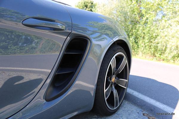 Porsche 718 Boxster S Lufteinlass