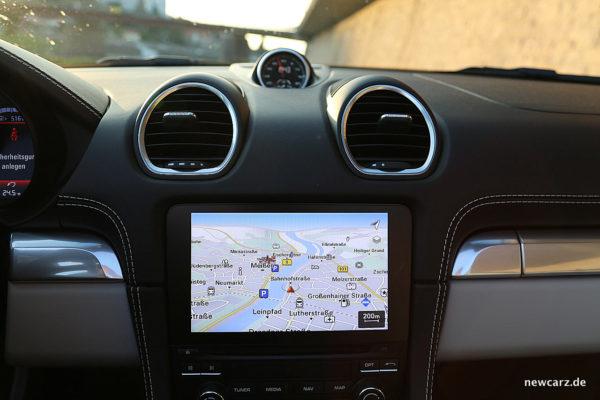 Porsche 718 Boxster S Touchscreen