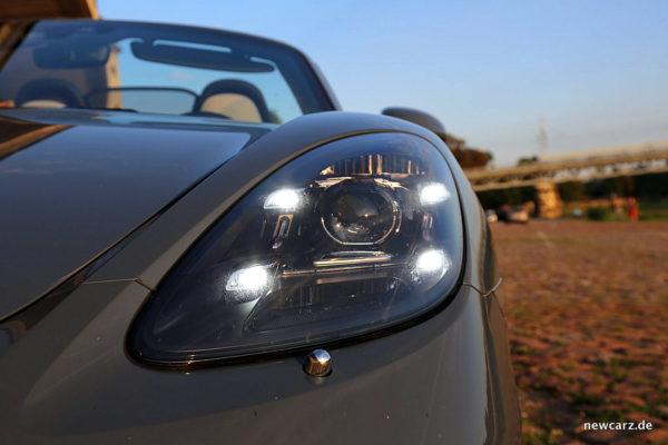 Porsche 718 Boxster S Scheinwerfer