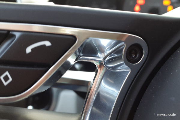 Porsche 718 Boxster S Lenkrad Detail