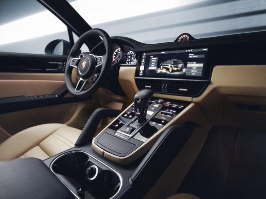 Porsche Cayenne 2018 Touchscreen