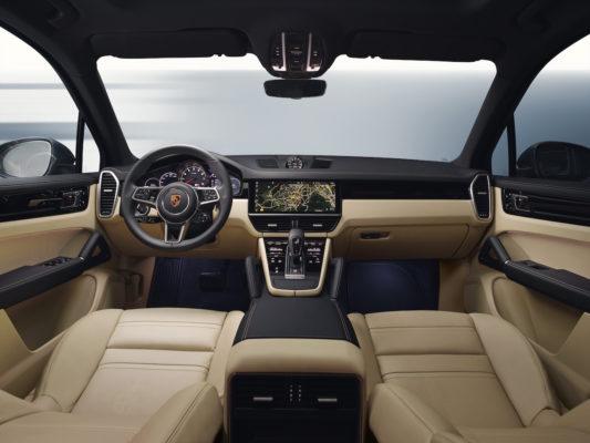 Porsche Cayenne 2018 Interieur