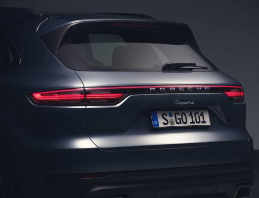 Porsche Cayenne 2018 LED Leuchtenband
