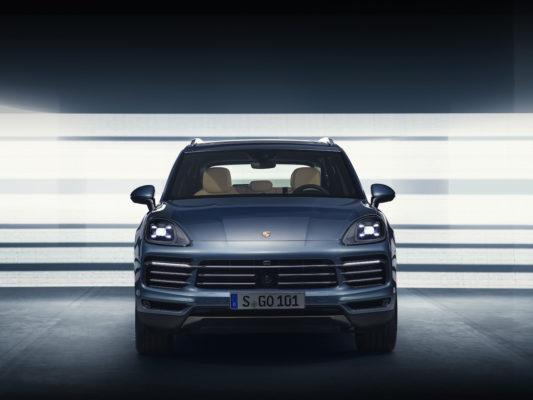 Porsche Cayenne 2018 Front