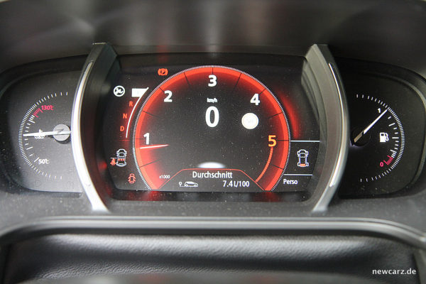 Renault Megane Grandtour Tacho