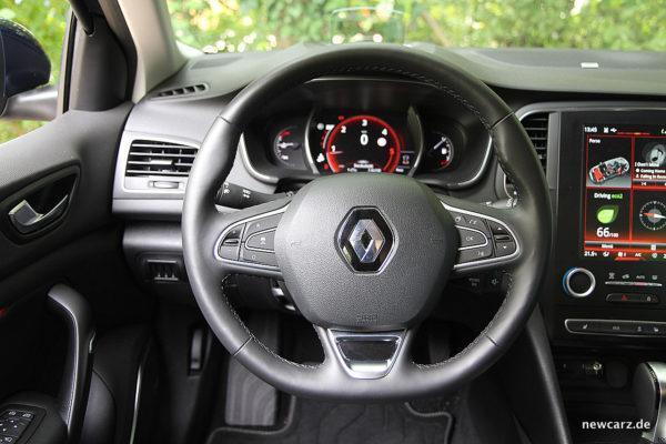 Renault Megane Grandtour Lenkrad