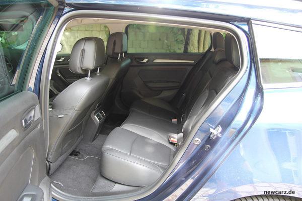 Renault Megane Grandtour Sitze hinten