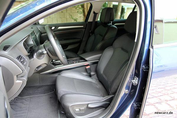 Renault Megane Grandtour Sitze vorn