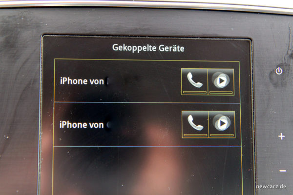 Renault Talisman Dauertest Freisprecheinrichtung