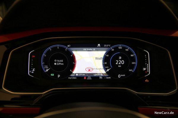 VW Polo Active Info Display