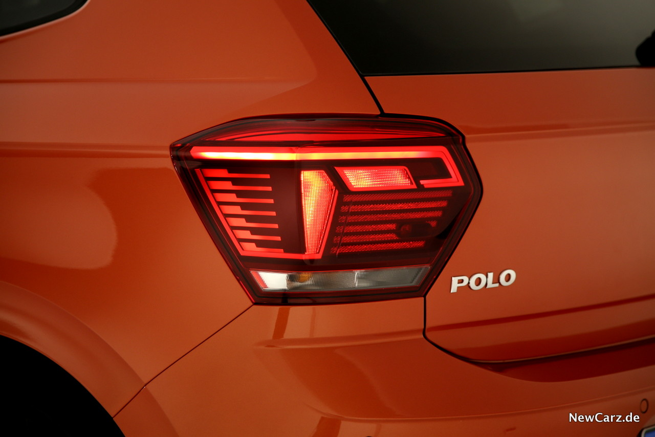 VW Polo Active Info Display