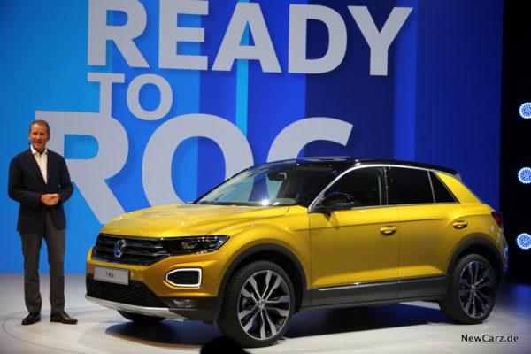 VW T-Roc Seite
