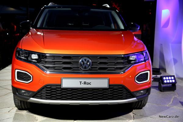 VW T-Roc Front