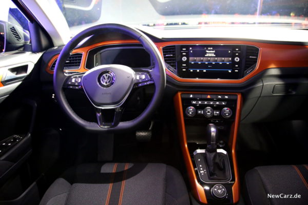 VW T-Roc Interieur