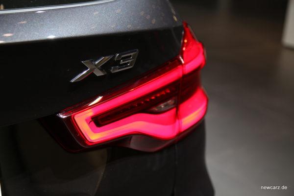 BMW X3 Heckleuchten