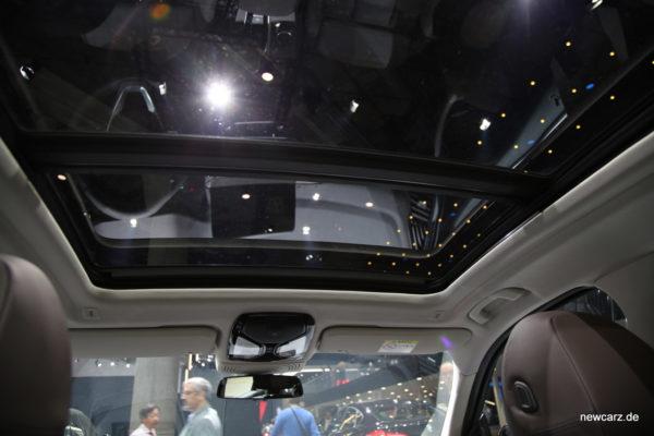 BMW X3 Panoramaglasdach
