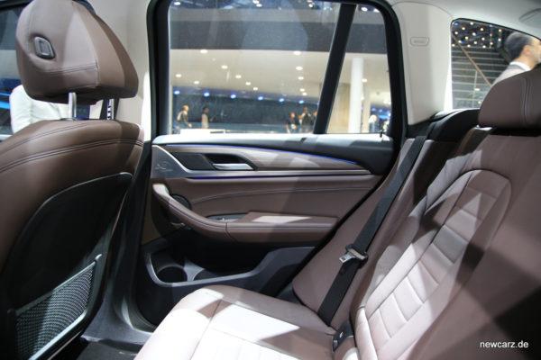 BMW X3 Rückbank
