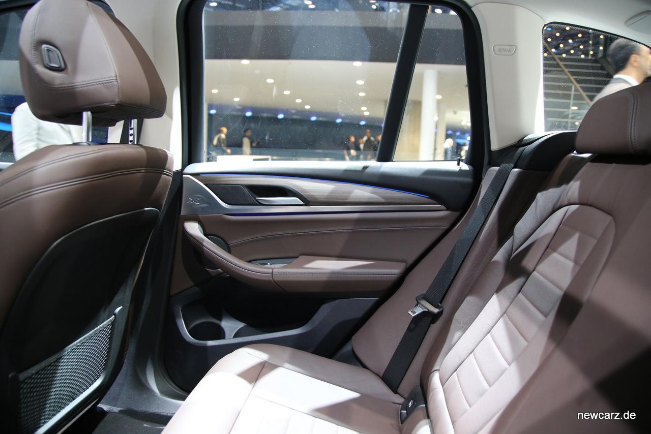 BMW X3 Dritte Generation des Erfolgs SUV NewCarz