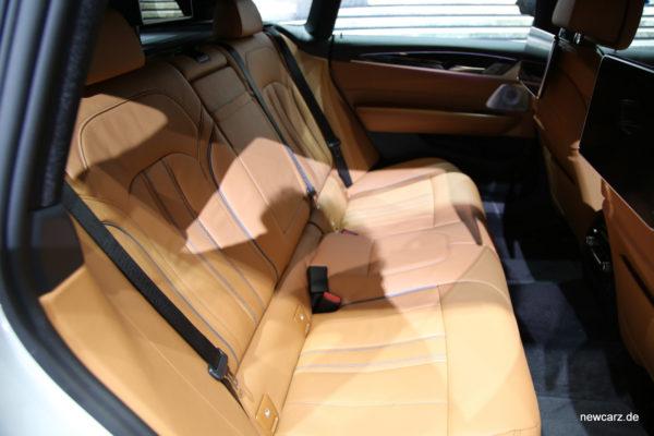 BMW 6er GT Rückbank