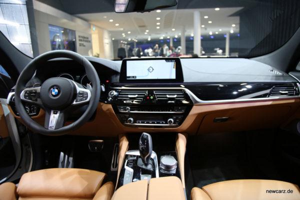 BMW 6er GT Mittelkonsole
