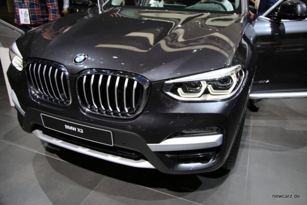 BMW X3 Frontansicht