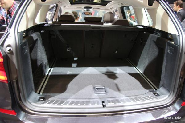 BMW X3 Kofferraum