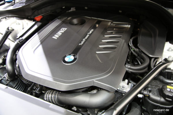 BMW 6er GT Motor