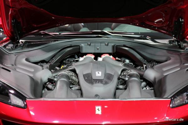 Ferrari Portofino Motorraum