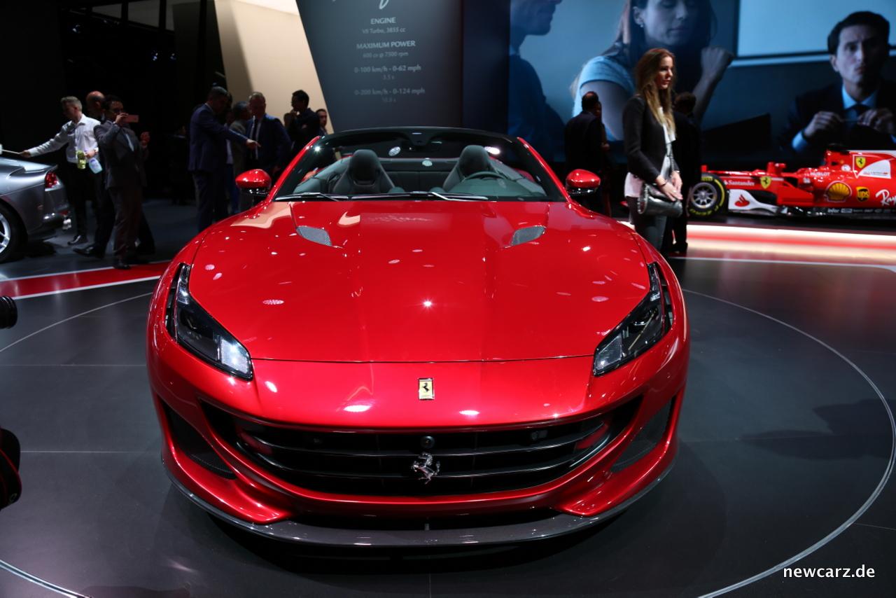 Ferrari-Portofino-Frontansicht