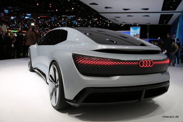 Audi Aicon Concept Heckansicht