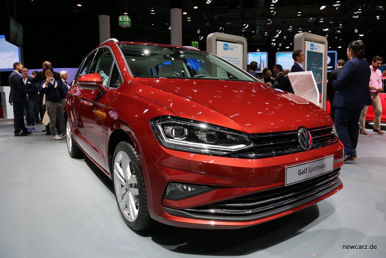 Volkswagen Golf Sportsvan Frontansicht