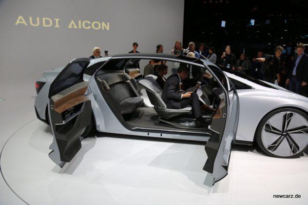 Audi Aicon ConnceptInnenansicht
